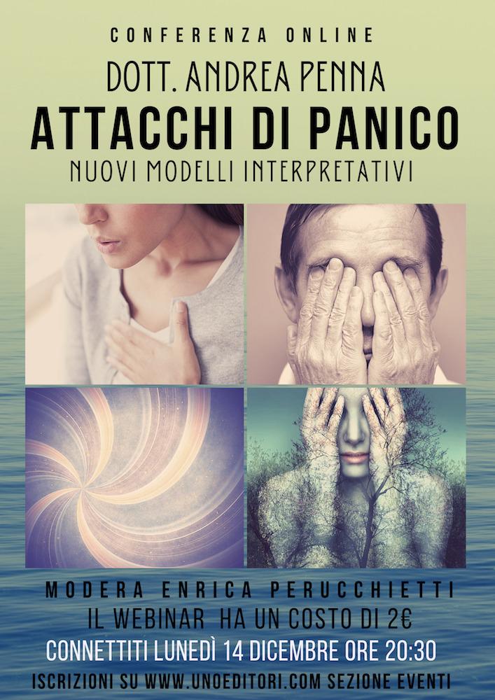 Conferenza in linea – Attacco di Panico, nuovi modelli interpretativi